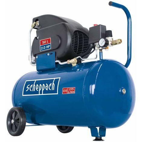 Compresor de Aire 1500W, 50L - Scheppach - 5906128901