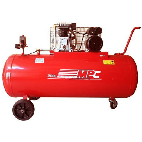 Compresor de aire 200 litros 2,2 kW