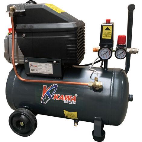 Compresor de Aire 24L 8 Bar KAWAPOWER