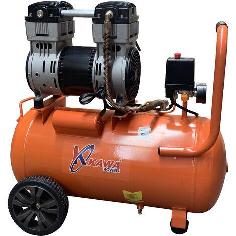 Compresor De Aire 24L Silencioso 8 Bar - Kawapower