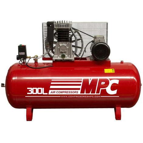 Compresor de aire 300 litros 4 kW 10 bar