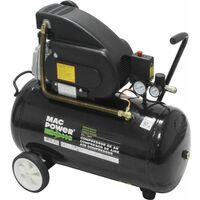Compresor de Aire 50 Litros 1.5hp monofasico - MAC POWER