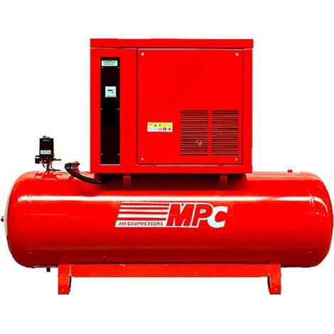 Compresor de aire 500 litros 5,5 kW insonorizado