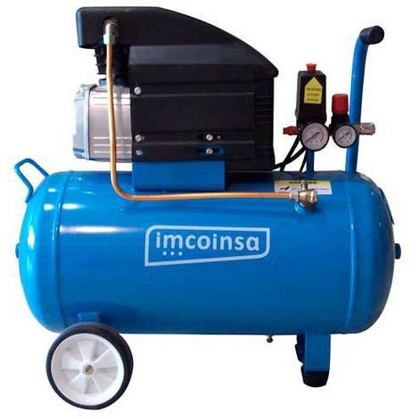 Compresor de aire Brico 0459 2 HP 50 Litros Imcoinsa
