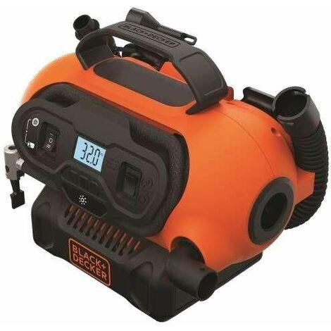 Compresor de aire CA/CC para 230 V / 12V / 18V Black & Decker BDCINF18N-QS