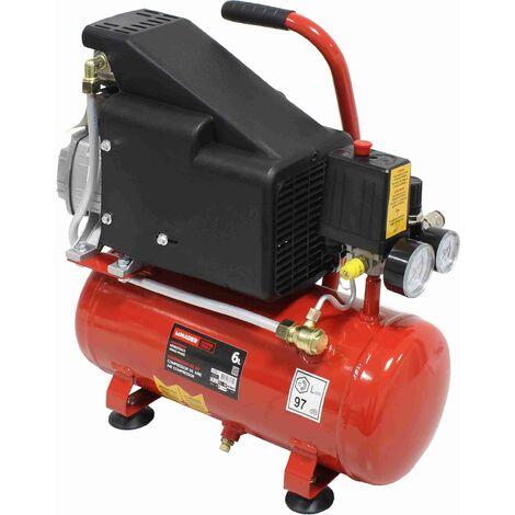 """main image of """"Compresor de Aire, Monobloco, 1.5Hp, 6L - Monofásico - con aceite - MADER®"""""""