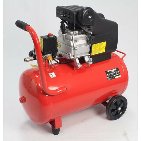 Compresor de Aire, Monobloco, 2HP, 50L - MADER®
