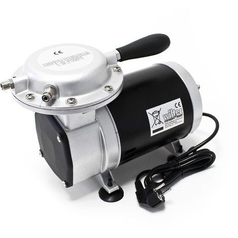 Compresor de aire para aerografía AS09 Accesorios para aerógrafoy trabajos con pistolas rociadoras