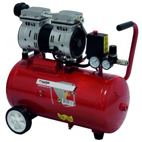 Compresor de Aire Silencioso 50L 1HP