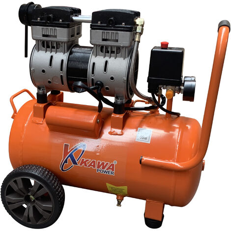 Compresor De Aire Silencioso , Capacidad 50L , 8 Bar - Kawapower