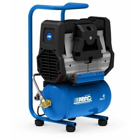 Compresor de Aire silencioso Start Silent OS15P sin aceite 1.5HP 8bar 6L ABAC