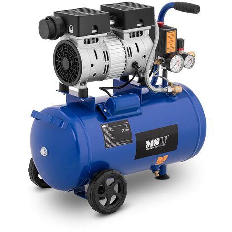 Compresor De Aire Sin Aceite Generador Aire Comprimido 6-8 bar Taller 24L 550W