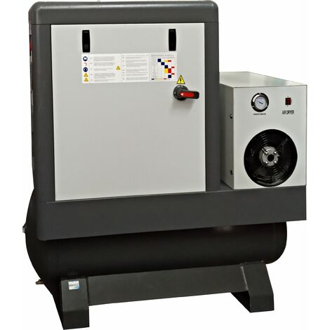 Compresor de Aire » Tornillo - 200L, 10Hp Trifásico - Con Aceite - MADER® | Power Tools