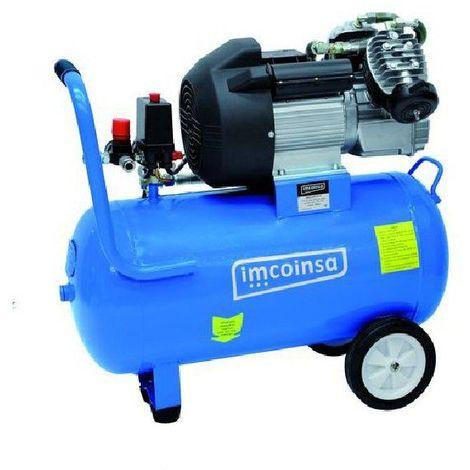 Compresor de alto rendimiento 0453E 3 HP 50 Litros Imcoinsa