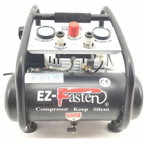 Compresor de bajo nivel sonoro 0.8 HP – 5 litros PRO-SILEN EZ-FASTEN