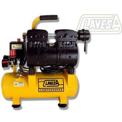 Compresor de bajo nivel sonoro 1 CV - 6 litros MTS-1006 Clavesa