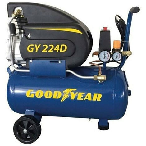 """main image of """"COMPRESOR ELECTRICO 1.500W 2 HP 24 L GOODYEAR GY224D - NEOFERR.."""""""