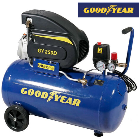 """main image of """"COMPRESOR ELECTRICO 1.500W 2 HP 50 L GOODYEAR GY250D - NEOFERR.."""""""