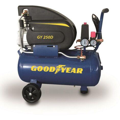 COMPRESOR ELECTRICO GOODYEAR GY 250D 2HP 50L