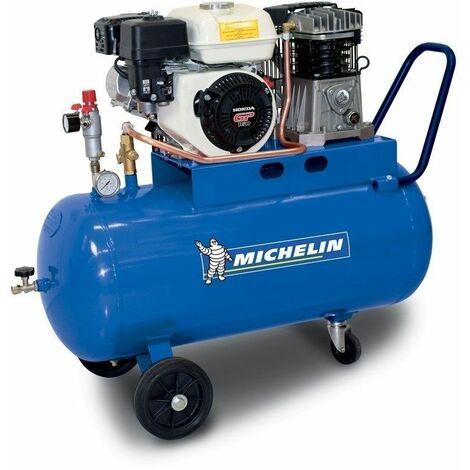 Compresor Gasolina 5 HP - 100 lt. 350 lt/min. 10 Bar MICHELIN CA-MUX360/100