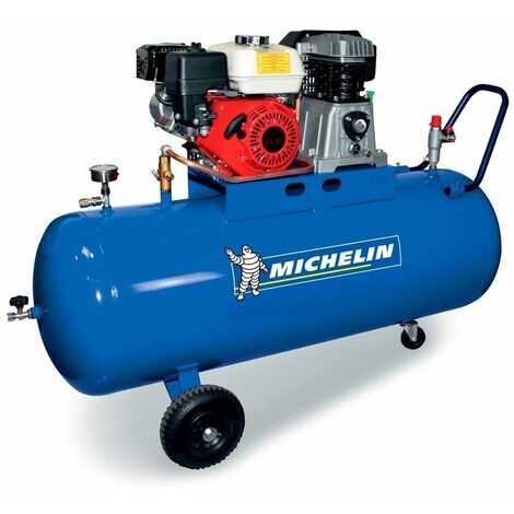 Compresor Gasolina 5,5 HP - 200 lt. 510 lt./min. 10 Bar MICHELIN CA-MUX515/200