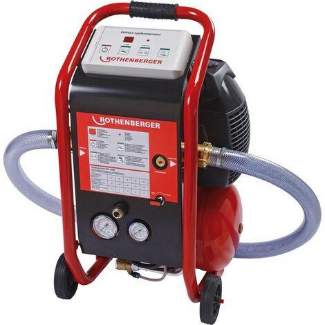 Compresor limpiador ROPLUS, volumen del reserva : 10 l, Presión de agua máxi. 7 bar, Poderío del motor 230 V/1100 W, Flujo máxi. : 5 m³/h