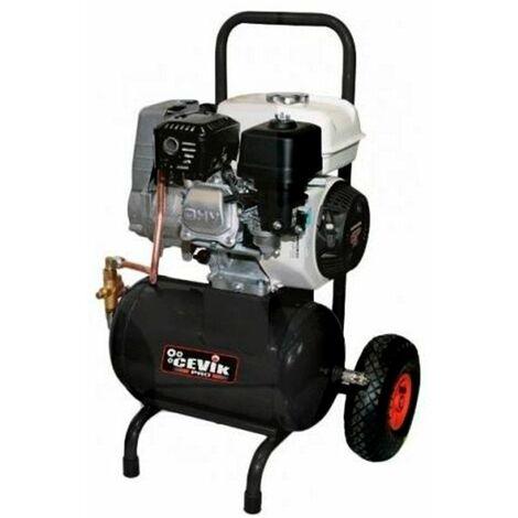 Compresor motor gasolina 5HP 10Bar 275Lt/min. 20Lts. 76dB CEVIK CA-S1520