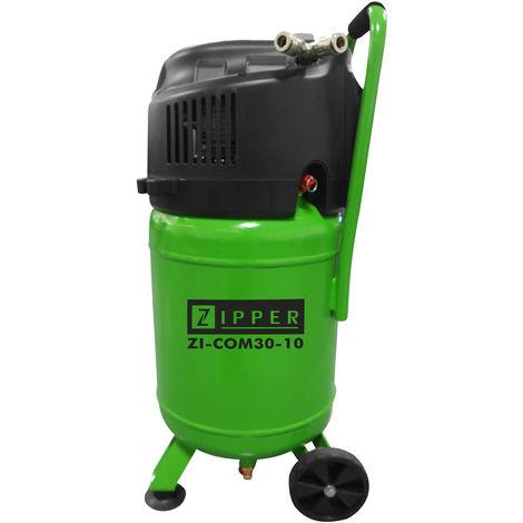 Compresor movil vertical Zipper ZI-COM30-10 10 bares de presion caldera 30 L