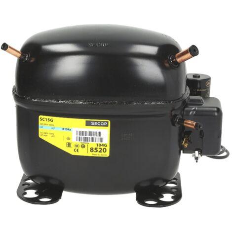 Compresor Secop Alta/Media Temperatura Sc15G R134A 15.28Cc