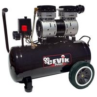 Compresor Silencioso 24Lt 1,5Hp 8 Bar Pro24Silent Cevik