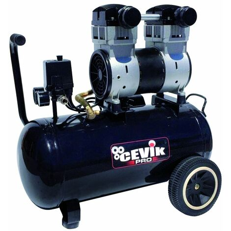 Compresor Silencioso 40L. 2CV. PRO40SILENC Cevik