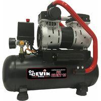 Compresor Silencioso 55 Db 12L. PRO12SILENT Cevik