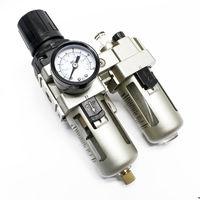 "Compressed air service unit 12,91mm 1/4"" filter regulator water separator oiler"