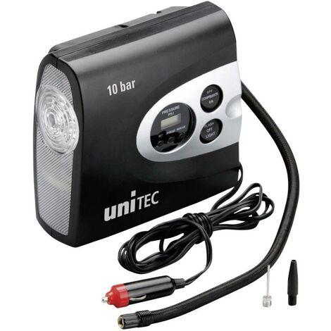 Compresseur 10 bar cartrend 10945 avec lampe de travail, range-câble et support de câble, écran numérique, coupure automatique