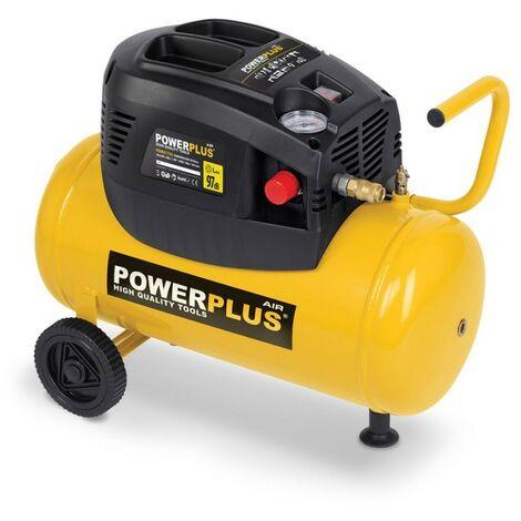 Compresseur 1100 Watts 24 Litres non lubrifié