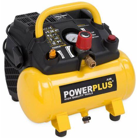 Compresseur 1100w 6 litres Powerplus