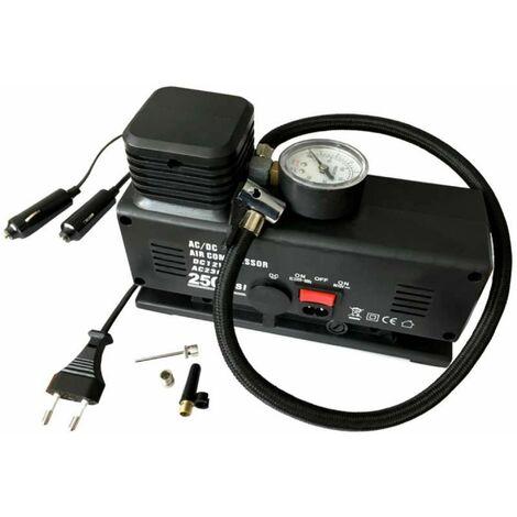 Compresseur 12-230v 17bars avec manomètre