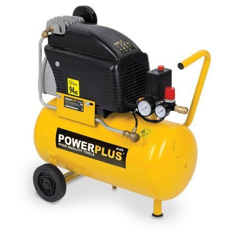 Compresseur 1500 Watts 24 Litres Lubrifié