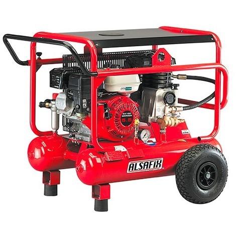 Compresseur 20 Litres thermique 5,5 CV ALAIR 20/500-5,5 HONDA - AL57020 - Alsafix - -