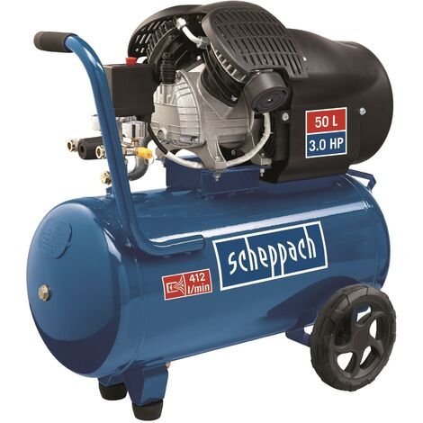 Compresseur 50 litres HC52DC Scheppach 5906101901