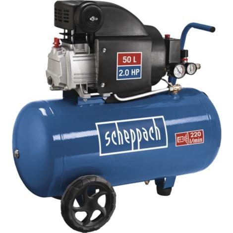 Compresseur 50 litres HC54 1.50kW Scheppach 5906103901