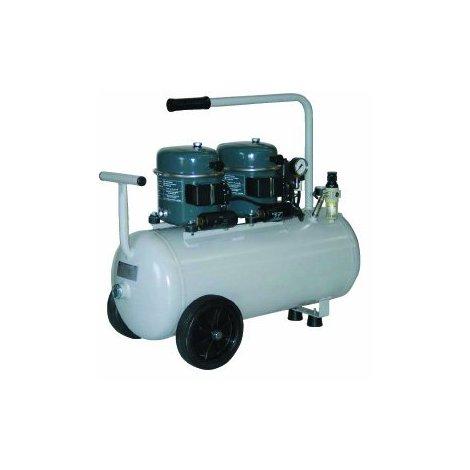 Compresseur à air silencieux 50L 680W SONAIR 100/50 (2 moteurs)