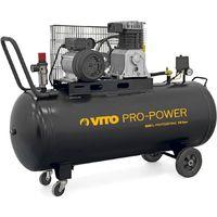 Compresseur à courroie Professionnnel 3 CV / 200L VITOPOWER TRIPHASE 2800 Tr/min 300 Litres/min