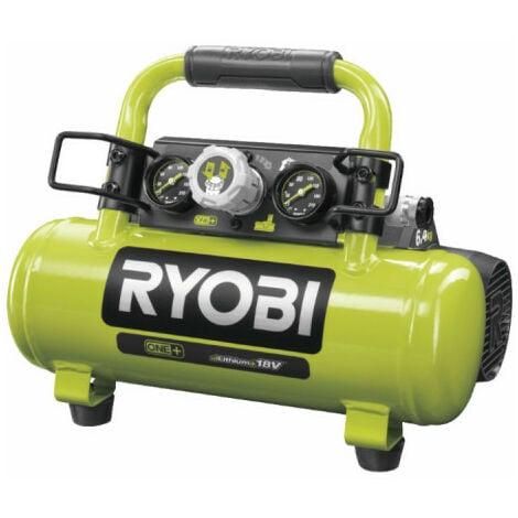 Compresseur à cuve RYOBI 18V One Plus - 4L - Sans batterie ni chargeur R18AC-0