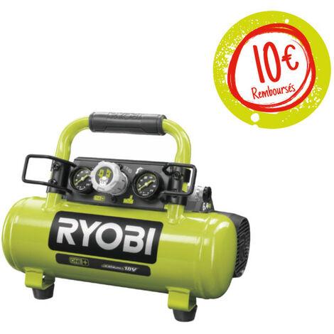 Compresseur à cuve RYOBI 18V OnePlus - 4L - R18AC-0