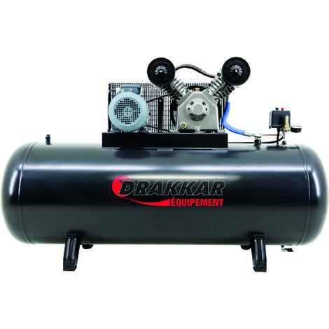 Compresseur a piston 7.5cv 500l tri