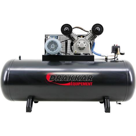 COMPRESSEUR A PISTON / courroies 7.5CV 500L TRI-S11238