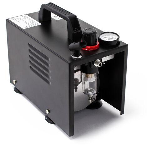 Compresseur Aérographe AF18A compact Manomètre pressure reducer