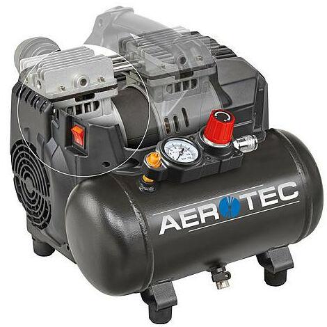 Compresseur AEROTEC SUPERSIL 6 avec reservoir 6 litres