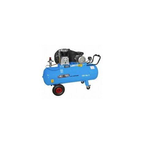 Compresseur air cylindre fonte 150L 3CV monophasé